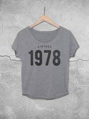 40th birthday gifts for women  vintage 1978 dolman