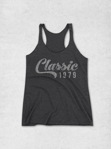 Women's 40th Birthday Tank Top - Classic Year