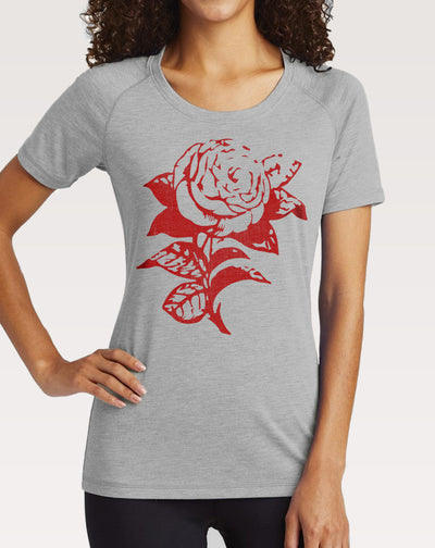 Women's Red Rose T-Shirt