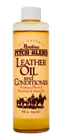 Montana Pitch Blend Leather Oil and Conditioner 8oz