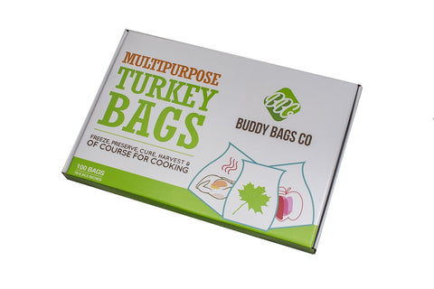 Turkey Oven Bags, 1 Pack of 100 Bags - Buddy Bags