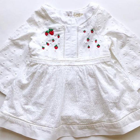 Strawberry Fields Dress - 12mo