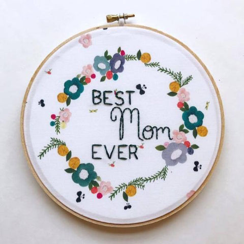Best Mom Ever - Limited Edition KimArt Fabric