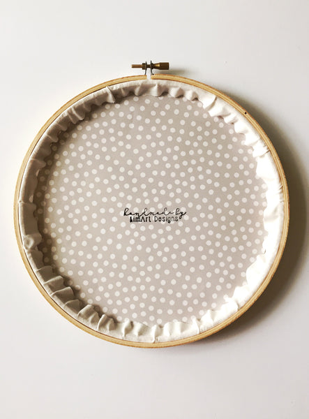 Bless This Mess Floral Embroidery Hoop