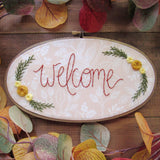 Autumn Welcome Sign