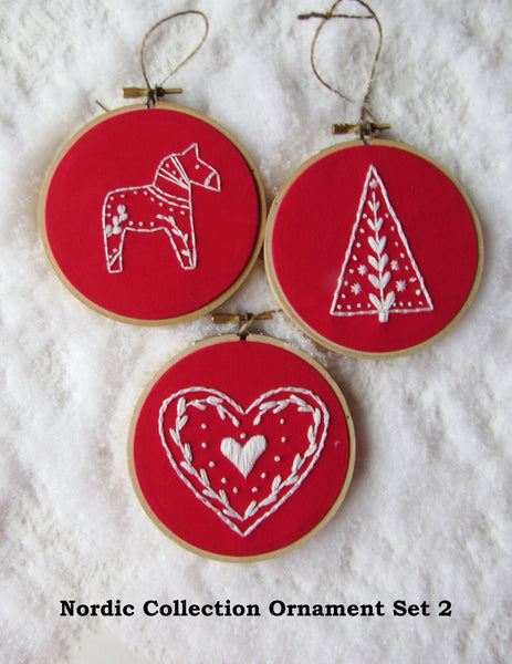 Nordic Collection Ornaments - Choose Your Set