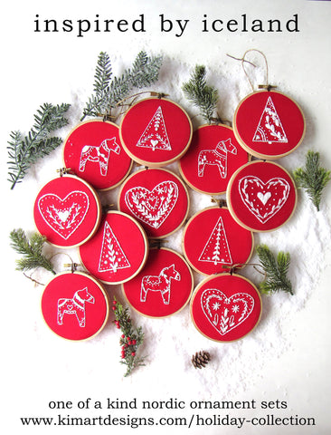 Nordic Collection Ornaments