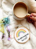 Pastel Rainbow Ornament