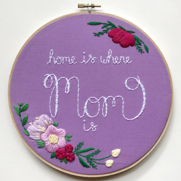 Home is Where Mom Is - ready to ship