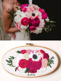 Oval Bridal Bouquet Replica
