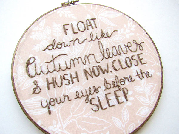 Float Down Like Autumn Leaves