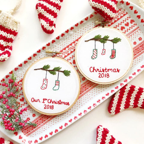 2018 Christmas Stockings Ornament