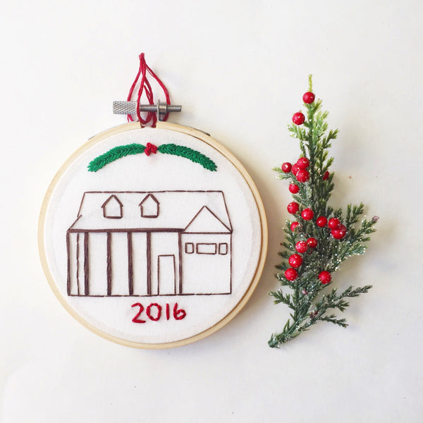Custom Home Replica Ornament
