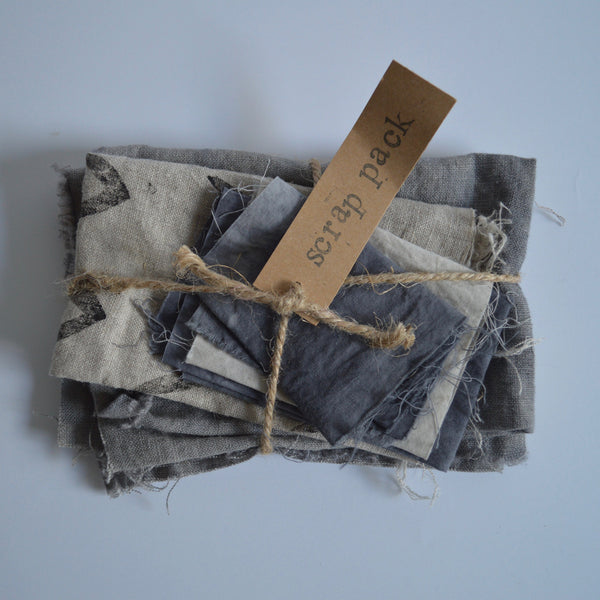 Naturally Dyed Scrap Pack