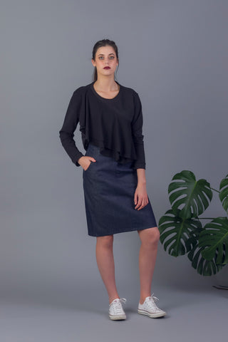 Maja Denim Skirt