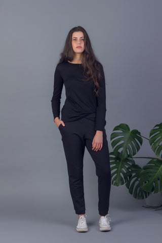 Mirna Long Sleeve Merino Top