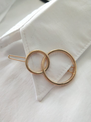 Double Ring hair clip