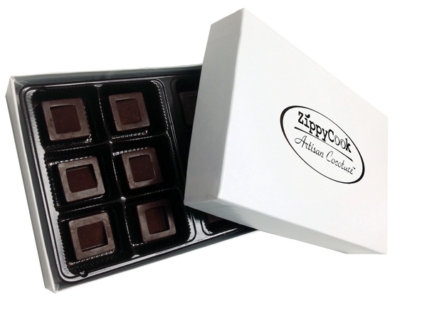 Dark Caramel Gourmet Cocoture Candy 12pc