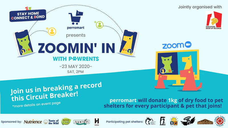 Help Us Set A Record: Largest Online Pet Gathering!