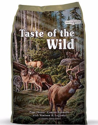 Dog Food Review: Taste of The Wild Pine Forest with Venison