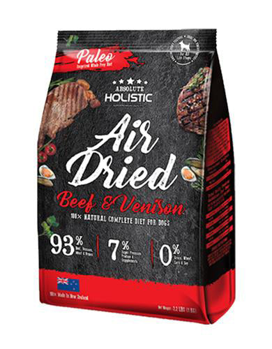 Absolute-Holistic-Air-Dried-Beef-Venison-Dog-Food