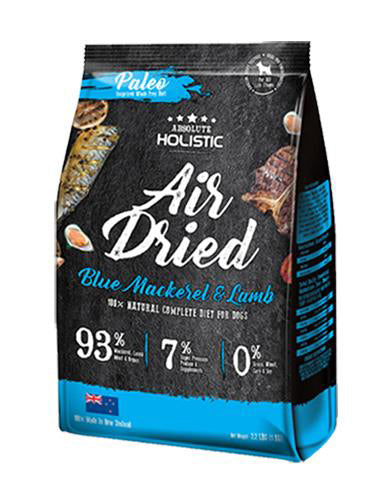 Absolute-Holistic-Air-Dried-Blue-Mackerel-Lamb-Dog-Food
