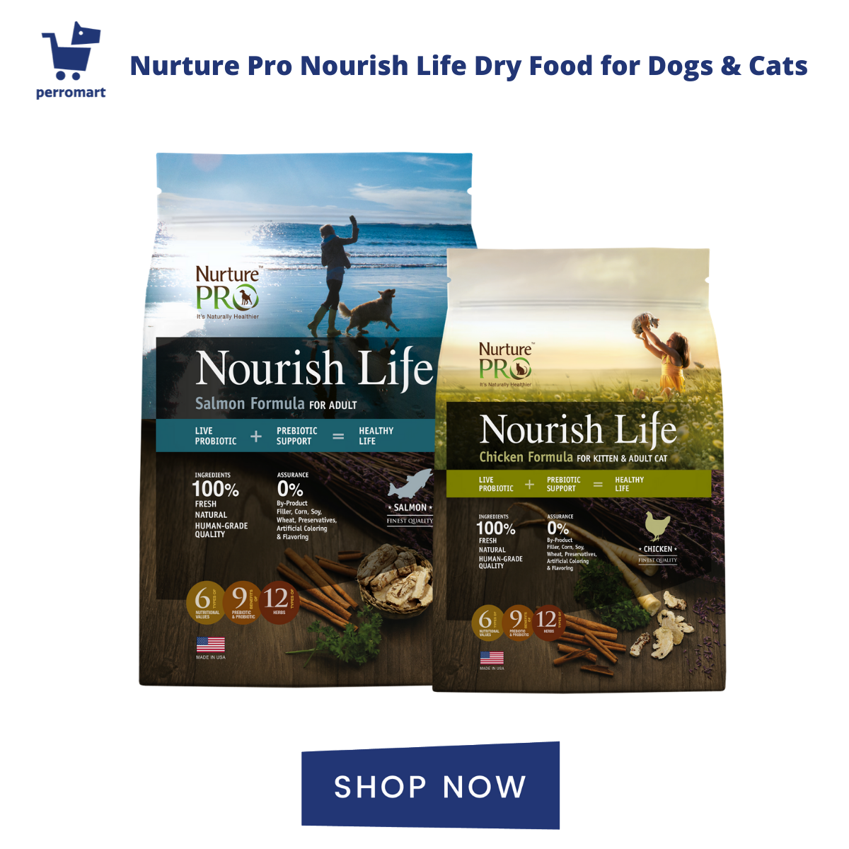 Nurture Pro Cat Food & Dog Food