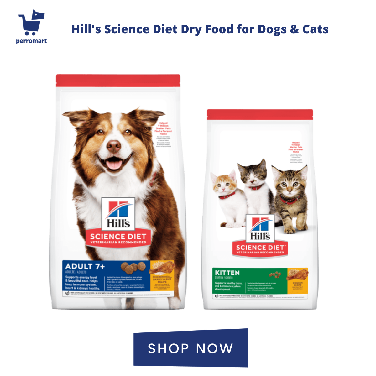 Hill's Science Diet Dog Food & Cat Food