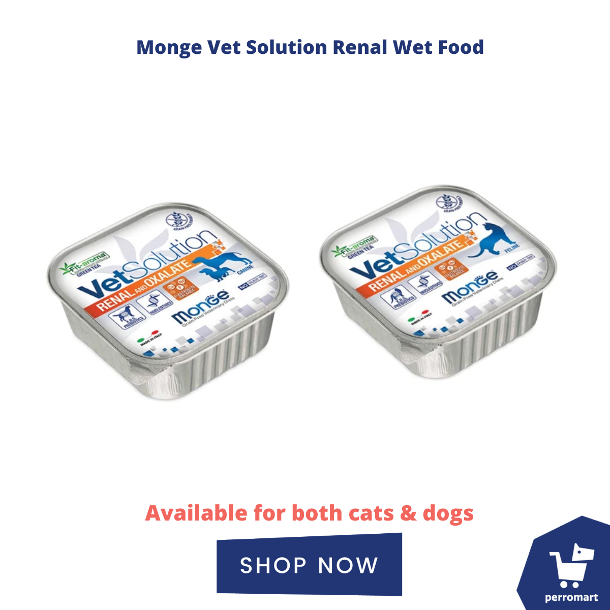 monge veterinary renal wet food for dogs and cats with kidney issues