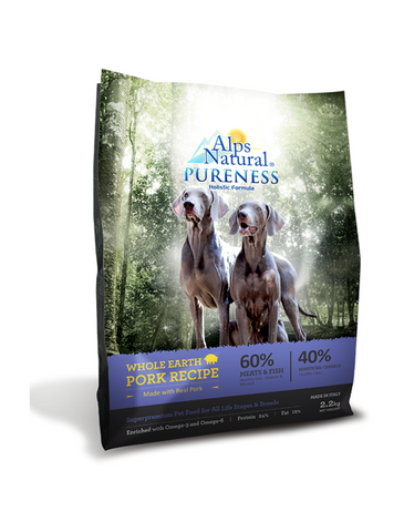Alps Natural Pureness Whole Earth Pork Recipe | Perromart Online Pet Store Singapore