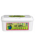 Earthbath Green Tea Fragrance Cat Grooming Wipes 100 towels | Perromart Online Pet Store Singapore