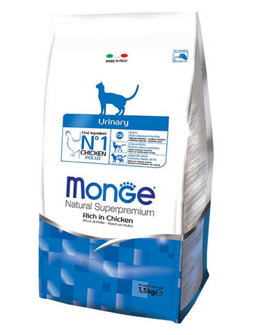 Monge Natural Superpremium Urinary Dry Food 2 Sizes | Perromart Online Pet Store Singapore