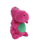 goDog Just For Me T-Rex Plush Toy (Lime/Pink)
