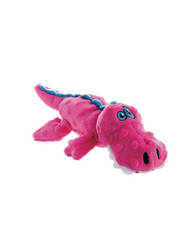goDog Just For Me Gator Plush Toy (Pink/Blue)