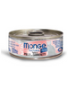 Monge Natural Tuna and Chicken with Shrimps Cat Food 80g