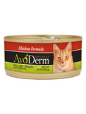 AvoDerm Natural Chicken Formula Canned Cat Food 5.5oz | Perromart Online Pet Store Singapore