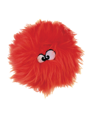 goDog Just For Me Furball Plush Toy (Orange/Lime)