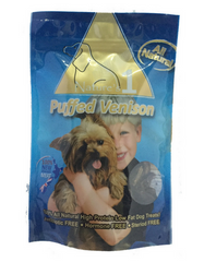 Nature's 1 Puffed Venison Dog Treats | Perromart Online Pet Store Singapore