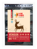 Raw Rawr Venison Freeze Dried Balance Diet Food for Dogs 2 Sizes | Perromart Online Pet Store Singapore