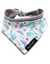 The Fluff Co. Classic Tie Reversible Scarf Bandana Floral | Perromart Online Pet Store Singapore