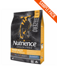 Nutrience SubZero Grain Free Fraser Valley Dog Food Sample