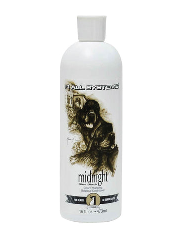 #1 All Systems Color Enhancing Conditioner Midnight for Dogs 16oz | Perromart Online Pet Store Singapore