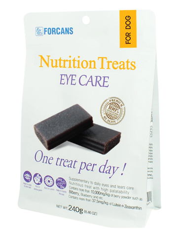 Forcans Eye Care Treats 240g | Perromart Online Pet Store Singapore