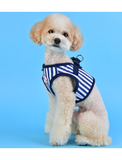 Puppia Navy Sport Vest Harness for Dogs (3 Sizes) | Perromart Online Pet Store Singapore