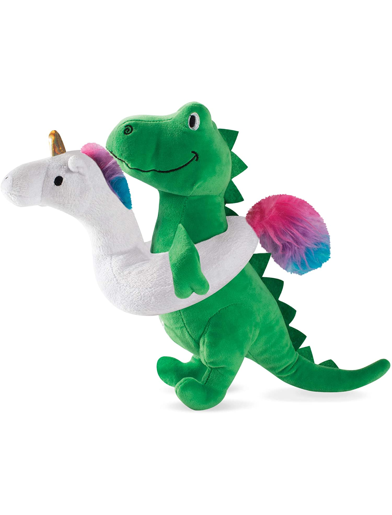 Fringe Studio Summa Time Rex, Dog Squeaky Plush Toy | Perromart Online Pet Store Singapore
