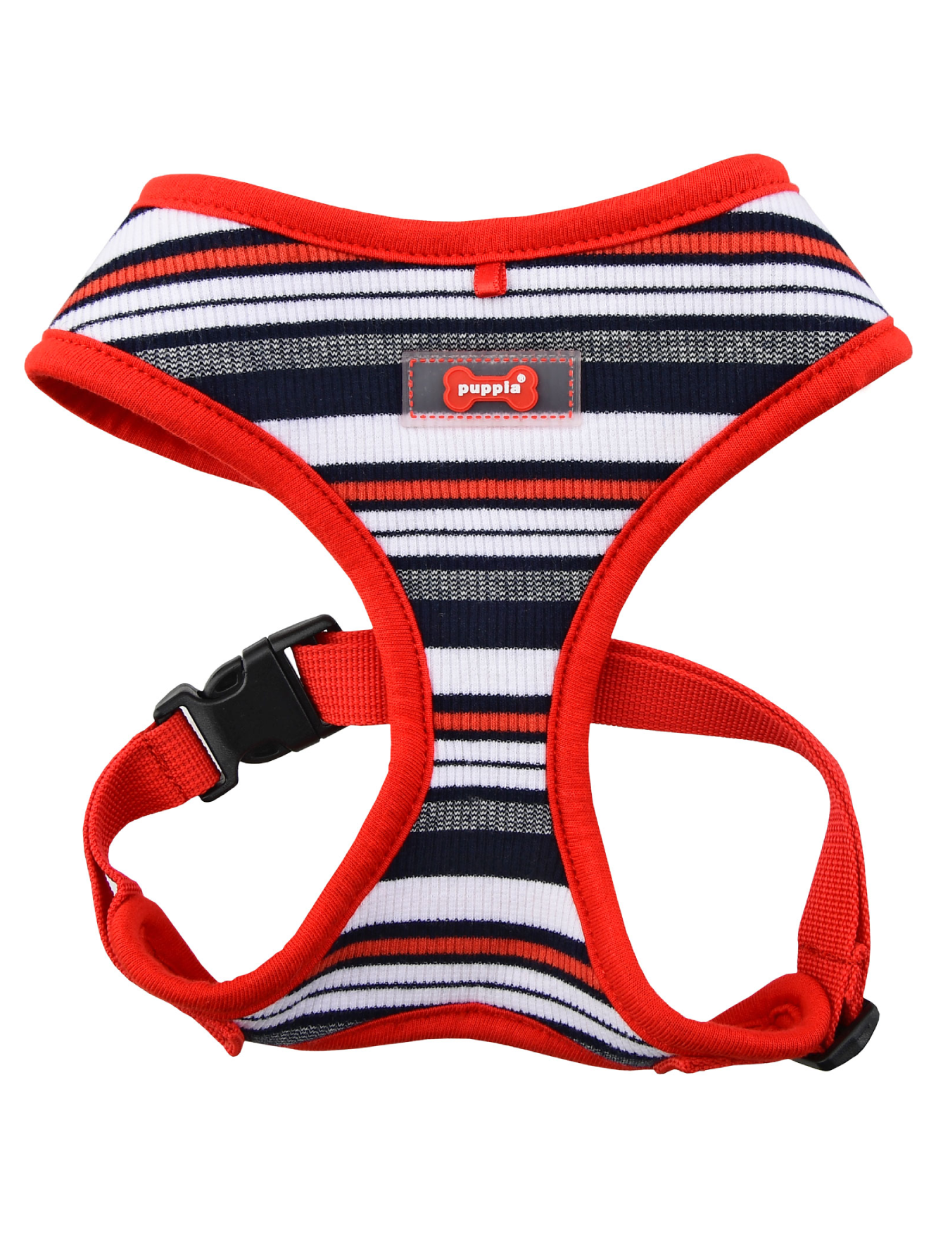 Puppia Red Oceane Harness for Dogs (4 Sizes) | Perromart Online Pet Store Singapore