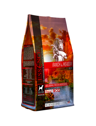 Essence Original Ranch & Meadow Dog Dry Food (3 Sizes) | Perromart Online Pet Store Singapore