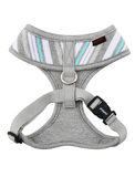 Puppia Grey Oceane Harness for Dogs (4 Sizes) | Perromart Online Pet Store Singapore