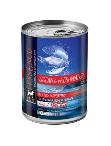 Essence Original Ocean & Freshwater Dog Wet Food 13oz | Perromart Online Pet Store Singapore