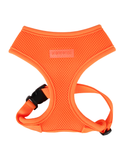 Puppia Neon Orange Soft Harness for Dogs (3 Sizes) | Perromart Online Pet Store Singapore